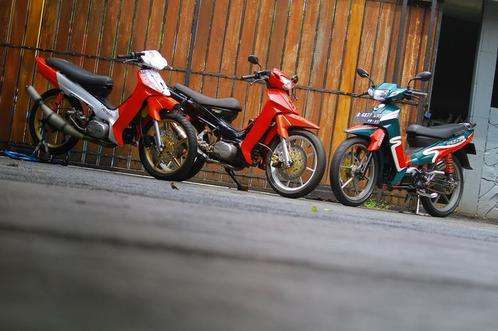 Yamaha F1ZR kini diburu pecinta komunitas bebek 2 tak