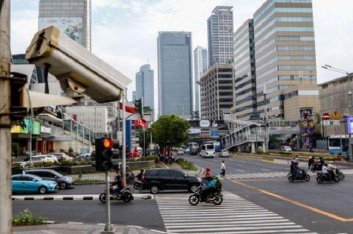 Ilustrasi CCTV di Jakarta.