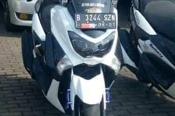 Yamaha NMAX Ghondiell Hanan yang juga hilang