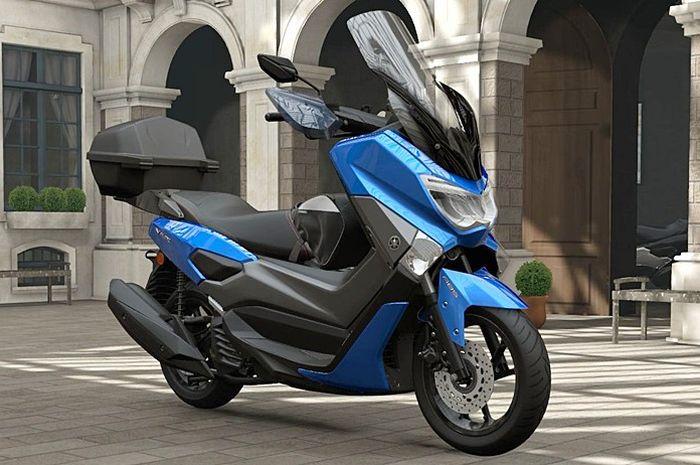 Yamaha NMAX lengkap dengan semua opsional