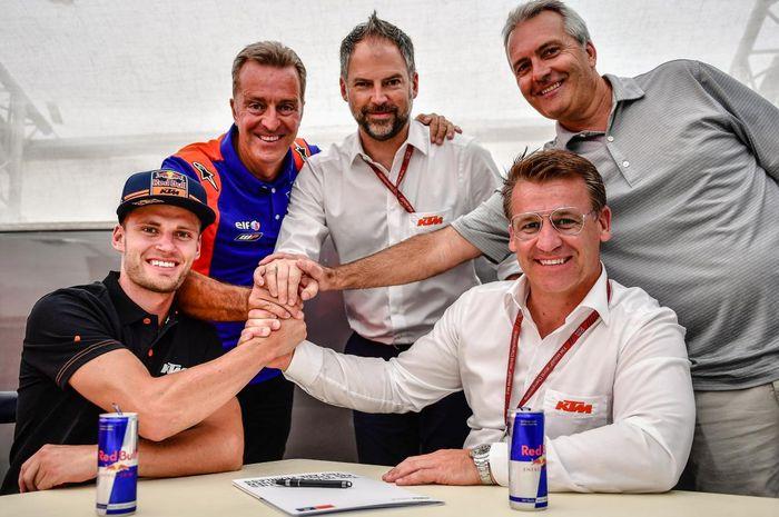 Brad Binder resmi naik kelas ke MotoGP tahun depan