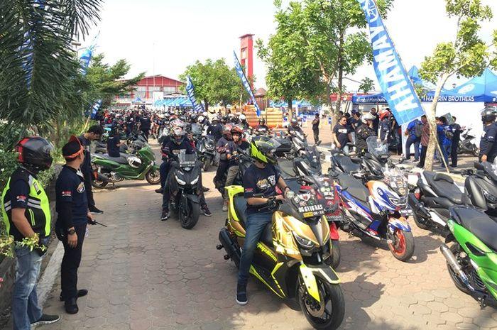 Ribuan bikers hadir di acara Maxi Days
