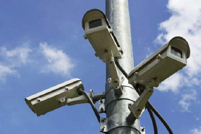Ilustrasi kamera CCTV Kepolisian