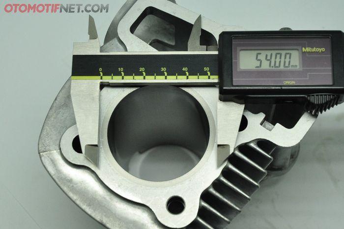 Silinder blok Honda Genio bisa masuk seher 54 mm