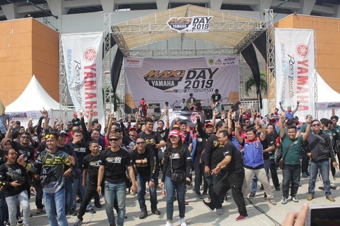 Keseruan event Yamaha MAXI Days