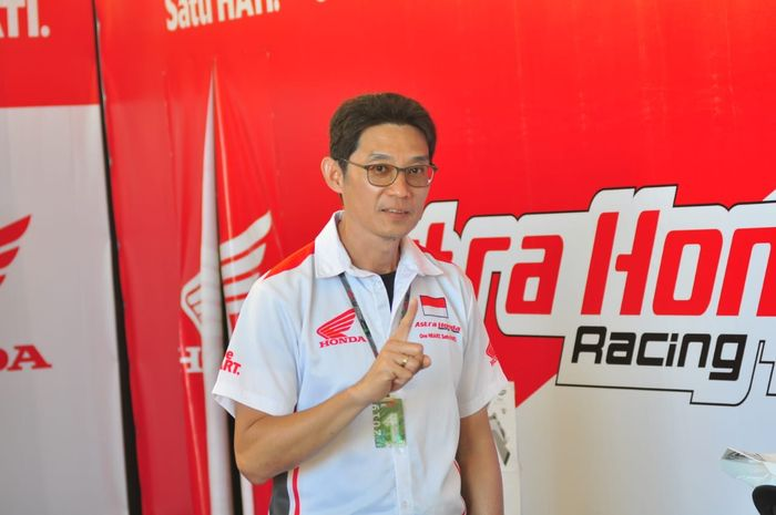 Rizky Christanto, Manajer Motorsport Division PT AHM