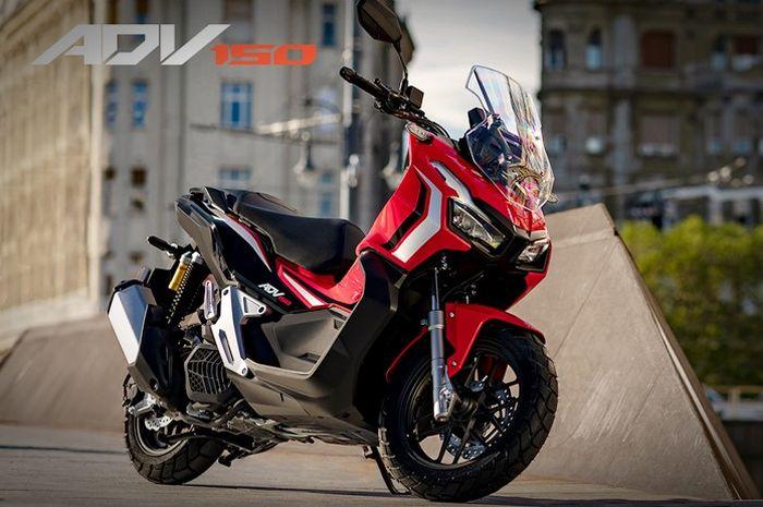 Honda ADV 150 Advance Red merupakan tipe tertinggi