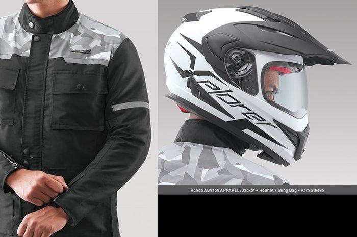 Helm dan jaket untuk Honda ADV150