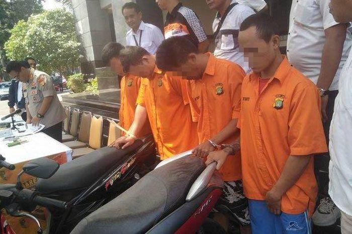 Mantan penjual soto alih profesi menjadi pencuri motor