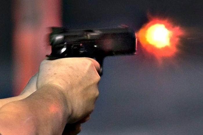 Ilustrasi tembakan