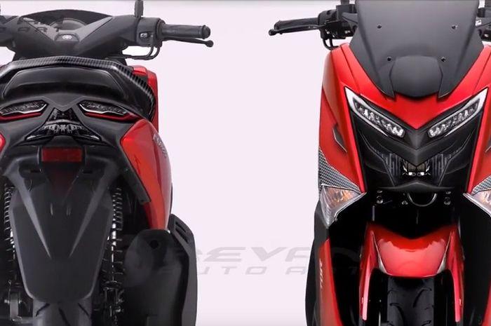 Yamaha NMAX Raptor 2020.