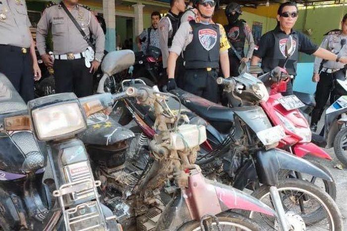 Lima motor bodong berhasil diamankan Polres Lumajang