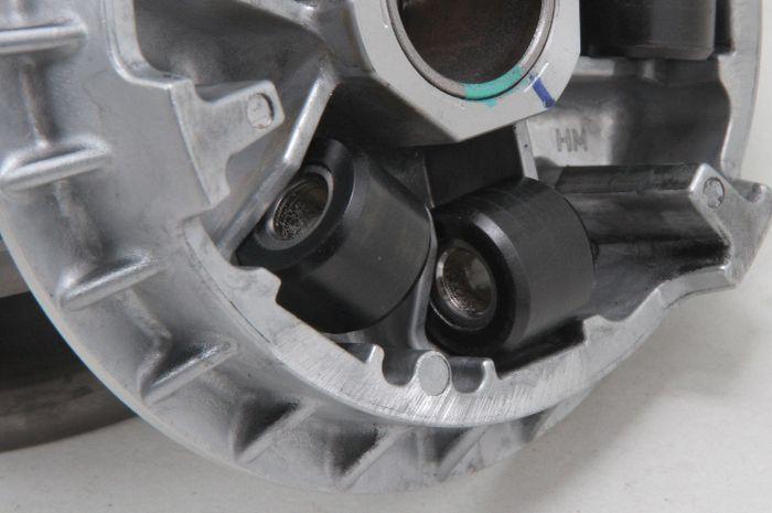 Posisi roller yang benar di Honda ADV150