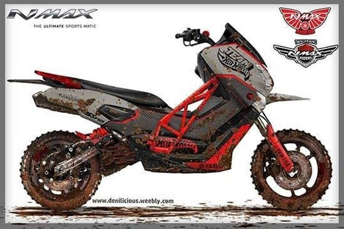 Yamaha NMAX jadi motor trail