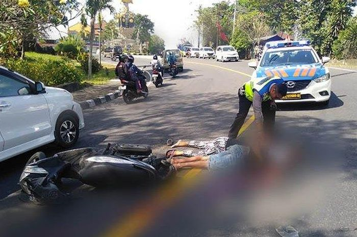 Ilustrasi kecelakaan motor. Polisi Sebut Ada 20 Titik Rawan Kecelakaan di Jakarta dan Sekitarnya, Bikers Hati-hati Kalau Lewat Jalan-jalan Ini