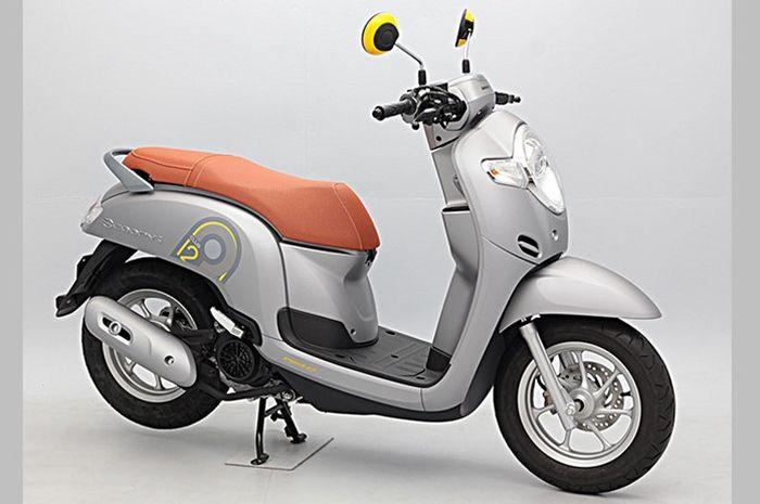 Honda Scoopy i Club 12 dijual di Jepang