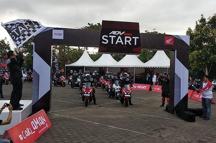 Motor Plus ikut di acara World Premiere Riding Experience Honda ADV150, Bali.