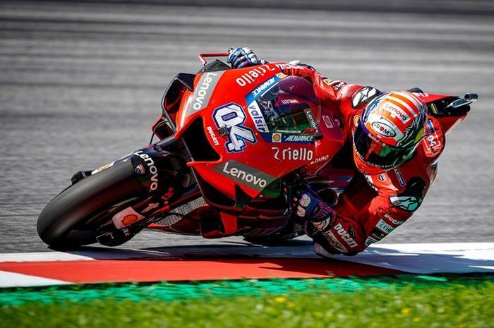 Andrea Dovizioso berjaya di FP3 MotoGP Thailand 2019