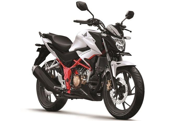 Honda CB150R Streetfire warna baru Razor White