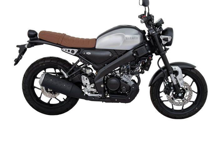 Tampilan Yamaha XSR155 2019