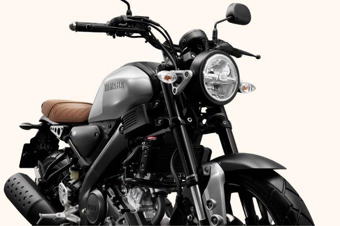 Yamaha XSR155 2019 warna Premium Gray