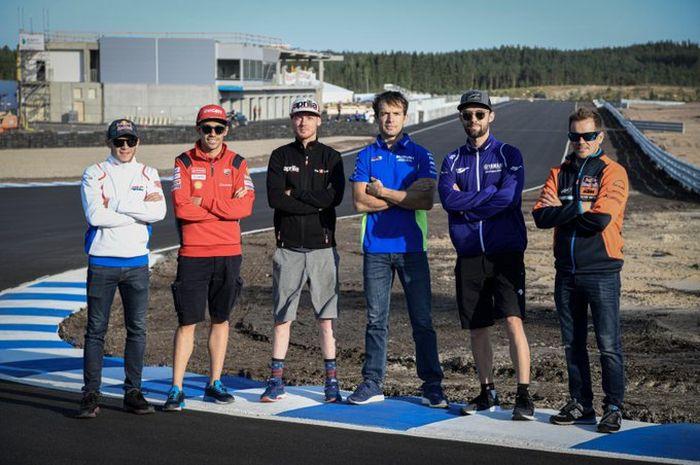Test rider tim MotoGP pabrikan dipercaya menjajal sirkuit baru Finlandia, KymiRing