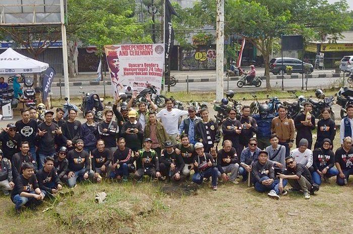 100 Bikers ramaikan acara Kawasaki W175 Jakarta