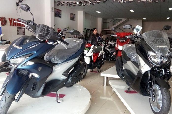 Line up Maxi Yamaha siap ramaikan gelaran Otobursa 2019.
