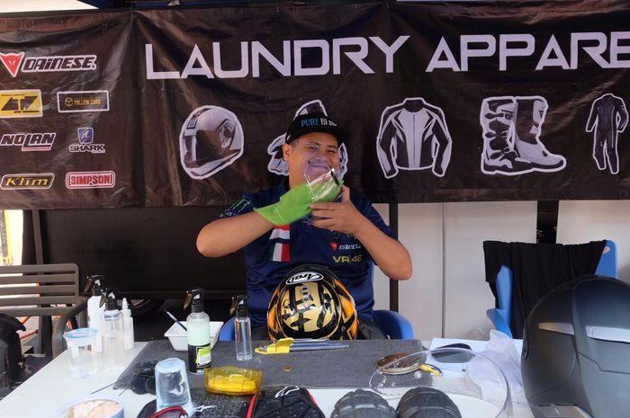 Motorcycle Apparel Care siap menangani semua riding gear jadi bersih