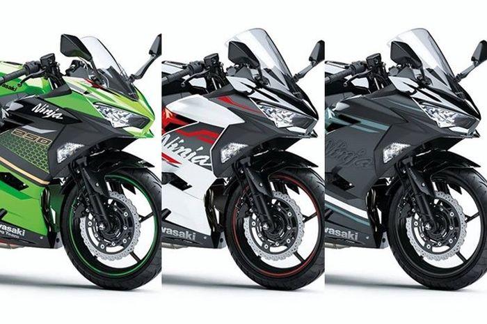 Sebagian warna baru Kawasaki Ninja 250 SE 2019