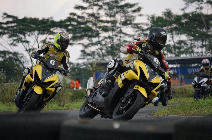 Balap matik Yamaha Aerox Fun Race kembali hadir di YCR Kalimantan Barat