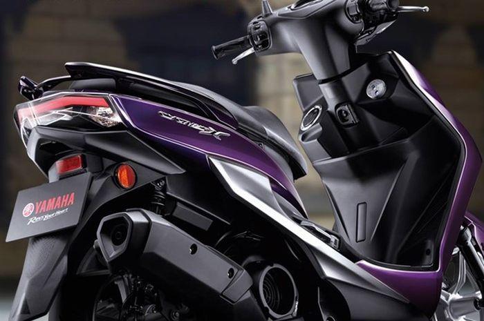 Skutik Yamaha Cygnus-X punya desain meruncing