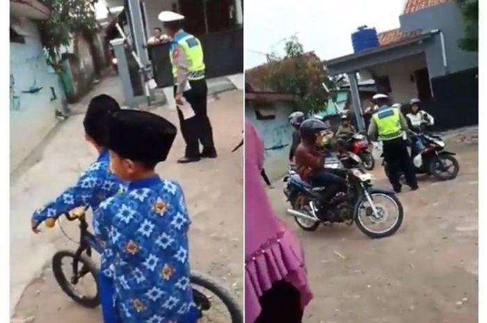 Ilustrasi Razia di jalan perkampungan. Polisi Boleh Gelar Razia di Jalanan Kampung, Asal Ada Surat Ini