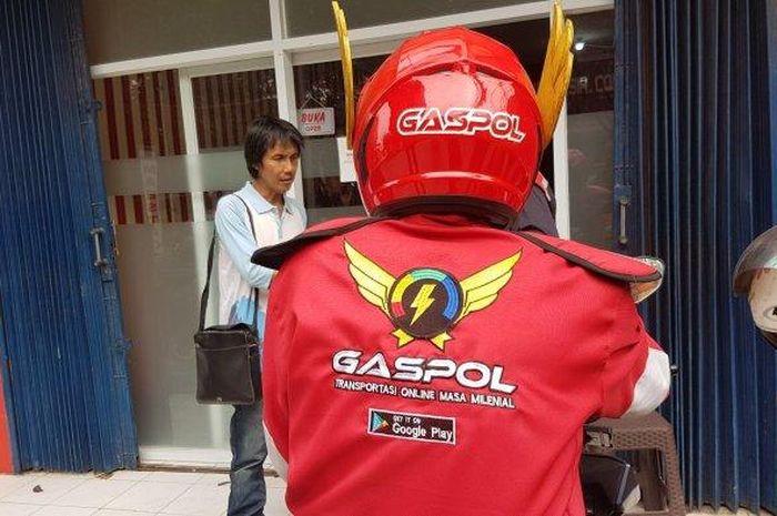 Transportasi online Gaspol tampil unik, mirip Gundala!