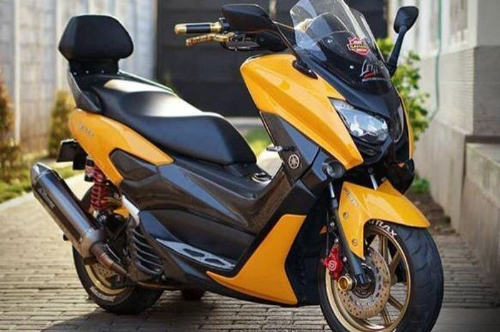 Wajah Yamaha NMAX facelift Gen 2 karya Lent Automodified.