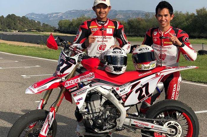 Dimas Ekky Pratama akan digantikan oleh Gerry Salim di Moto2 Aragon