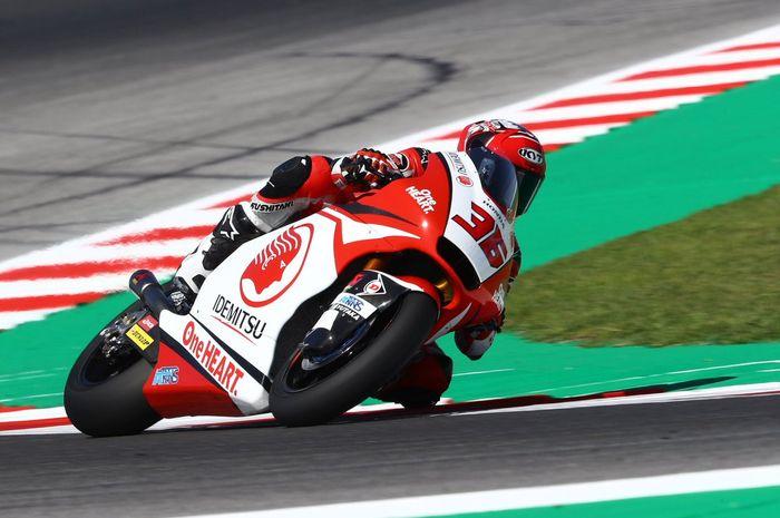 Andi Farid Izdihar melakoni debut di kejuaraan dunia Moto2 San Marino menjadi substitut Dimas Ekky Pratama
