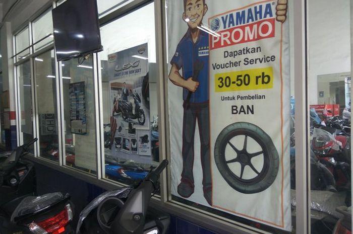 Promo ban motor yamaha