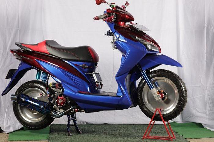 Honda Vario 110 eSP modifikasi.