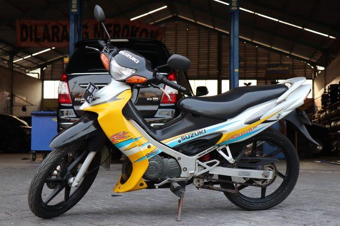 Suzuki Satria Hiu yang ditawar masih full orisinil, bukan hasil restorasi