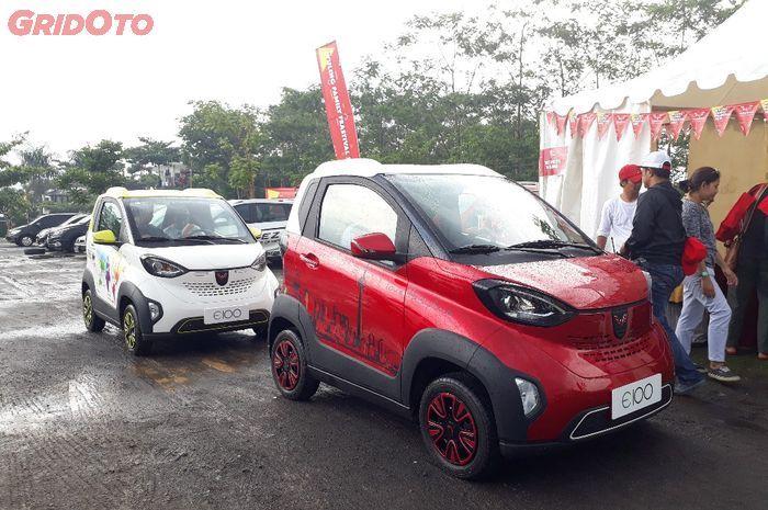 Mobil listrik Wuling E100