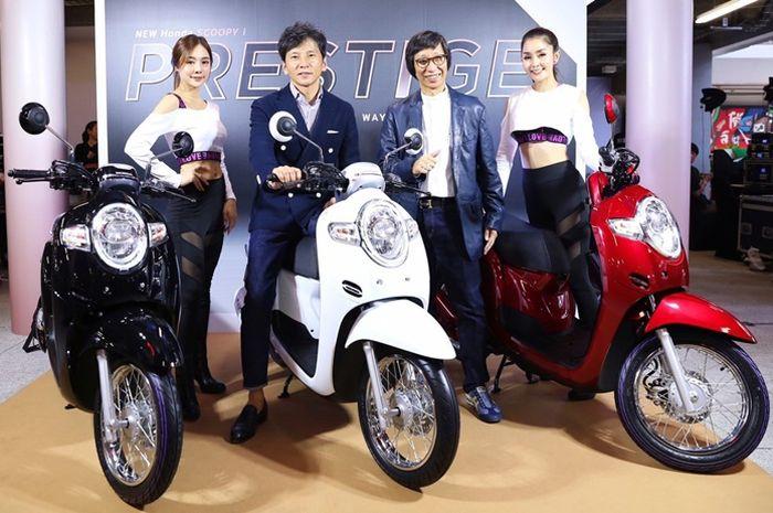 5 sejarah generasi Honda Scoopy di Indonesia, mulai yang lawas hingga All New Honda Scoopy 2020.