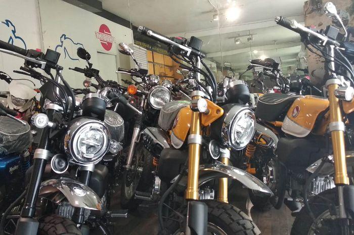 Honda Monkey di Probike dibanderol Rp 100 juta