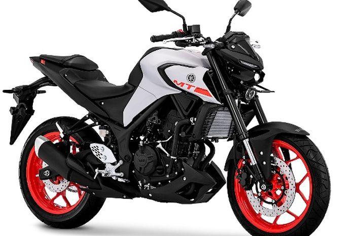 Yamaha MT-25 Matte Gray, hadir dengan warna baru lebih agresif dan maskulin.