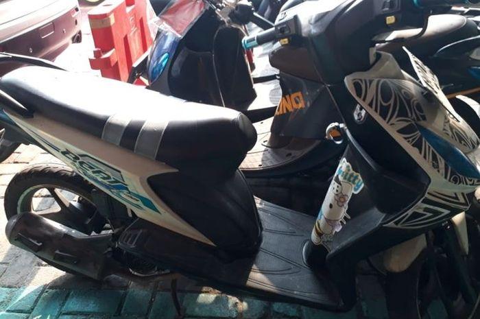 Honda BeAT milik marbot masjid yang hampir dicuri di Tambora, Jakarta Barat