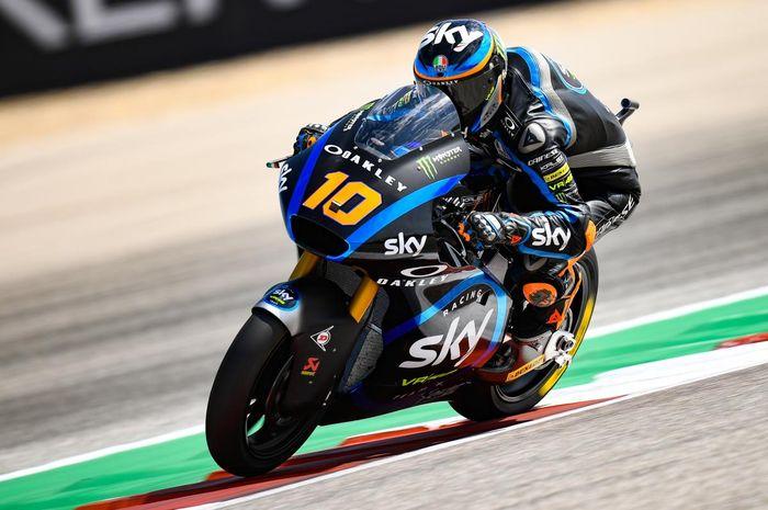Luca Marini menjadi tercepat di FP2 Moto2 Thailand 2019