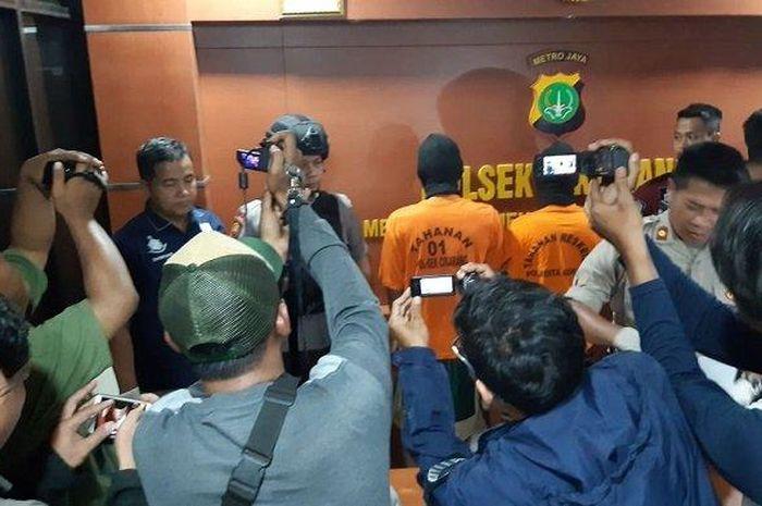 Dua orang residivis maling motor ditangkap di Bekasi, Salah satunya di tembak saat penangkapan
