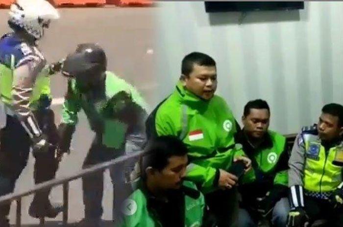 Begini nasib oknum polisi yang tendang driver ojek online di Bogor