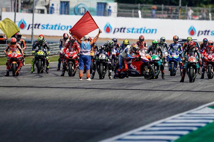 Jangan sampe lewat, catat link live streaming race MotoGP Spanyol 2020.