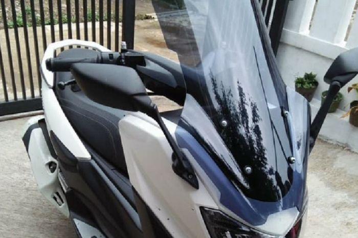 Ilustrasi windshield Yamaha NMAX.